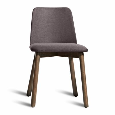 Chip Side Chair Upholstery: Gunmetal, Finish: Smoke