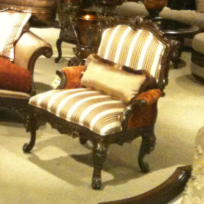 Omella Armchair Finish: Brown