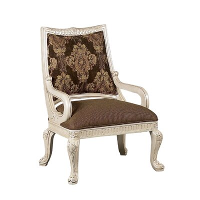 Riminni Armchair Upholstery: Brown