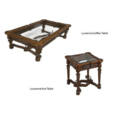 Lucianna 2 Piece Coffee Table Set
