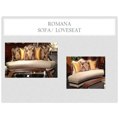 Romana 2 Piece Living Room Set