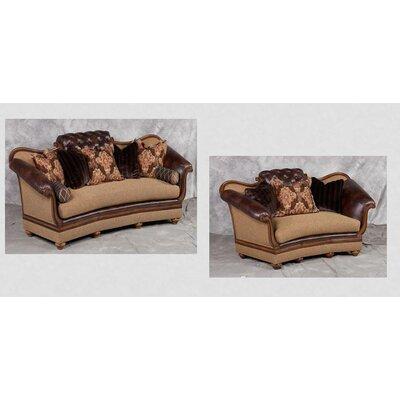 Salermo Sofa and Loveseat Set