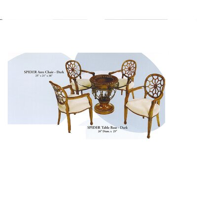 Spider 5 Piece Dining Set