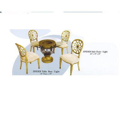 Spider 5 Piece Dining Set
