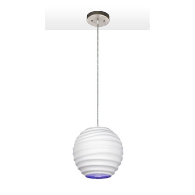 Spin Cloud 9 1-Light Pendant Finish: Bisque