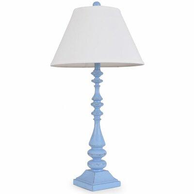 Lathed Coastal 31 Table Lamp