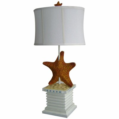 Starfish 32.5 Table Lamp Base Finish: White