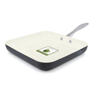 """GreenPan Lima 3D 11"""" Non-Stick Grill Pan CW000387-002"""
