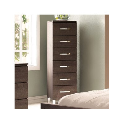 Cranbrook 6 Drawer Lingerie Chest Color: Espresso