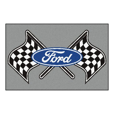 Ford - Ford Flags Tailgater Mat Rug Size: 17 x 26