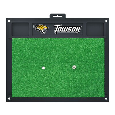 NCAA Towson University Golf Hitting Mat