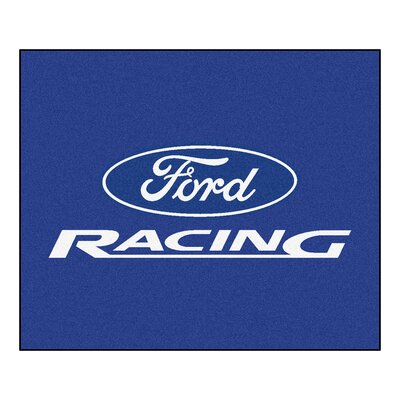 Ford - Ford Racing Tailgater Mat Rug Size: 5 x 6
