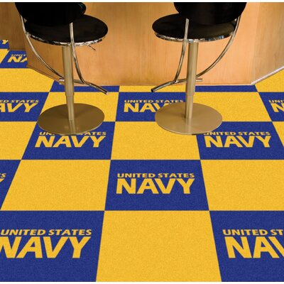 MIL U.S. Air Force Team Carpet Tiles Military Branch: Navy