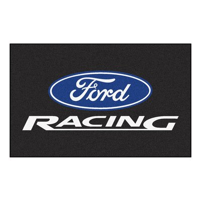 Ford - Ford Racing Doormat Color: Black