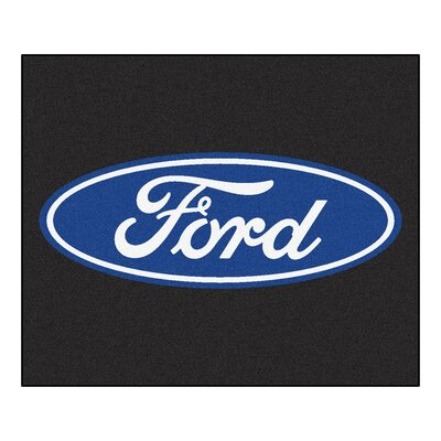 Ford - Ford Oval Tailgater Mat Rug Size: 5 x 6