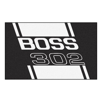 Ford - Boss 302 Rug Rug Size: 4 x 6