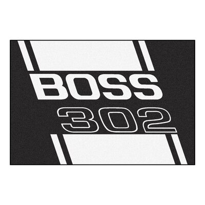 Ford - Boss 302 Rug Rug Size: 5 x 8