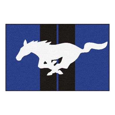 Ford - Mustang Horse Tailgater Mat Rug Size: 17 x 26