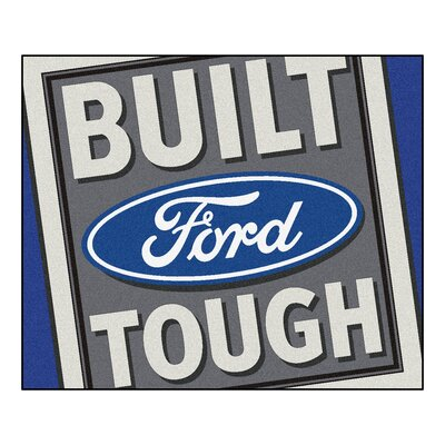 Ford - Built Ford Tough Tailgater Mat Rug Size: 5 x 6