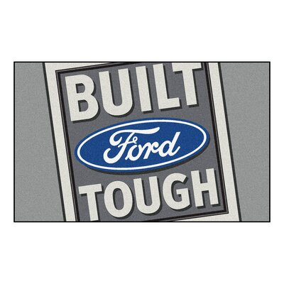 Ford - Built Ford Tough Doormat Color: Gray