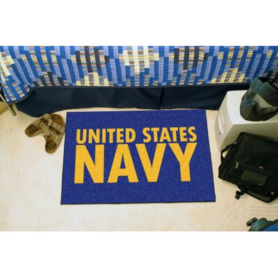 MIL U.S. Navy Doormat Mat Size: 18 x 26