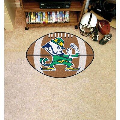 NCAA Notre Dame Football Mat
