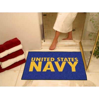 MIL U.S. Navy Doormat Rug Size: 210 x 38.5