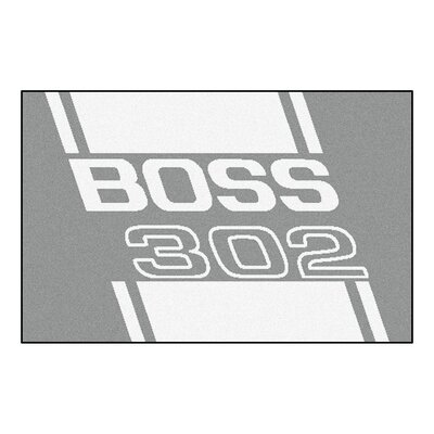 Ford - Boss 302 Rug Rug Size: 17 x 26