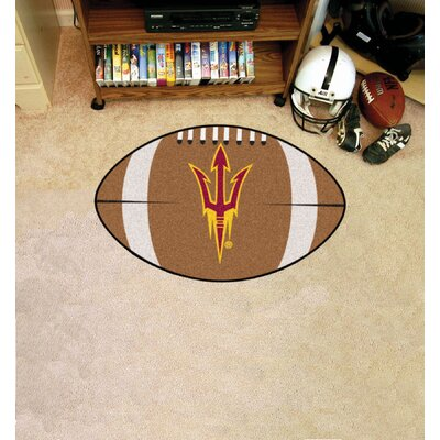 NCAA Area Rug NCAA Team: Arizona State University