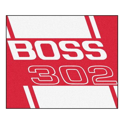 Ford - Boss 302 Rug Rug Size: 5 x 6