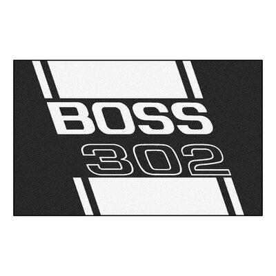 Ford - Boss 302 Doormat Color: Black