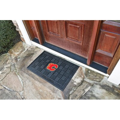 NHL - Calgary Flames Medallion Doormat