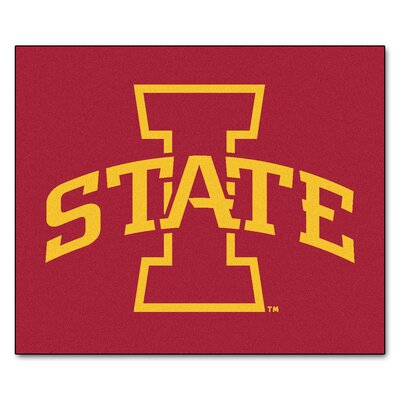 NCAA Iowa State University Indoor/Outdoor Area Rug