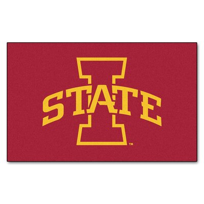 Collegiate NCAA Iowa State University Doormat