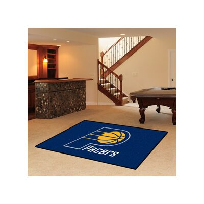 NBA - Indiana Pacers Doormat Mat Size: 5 x 8