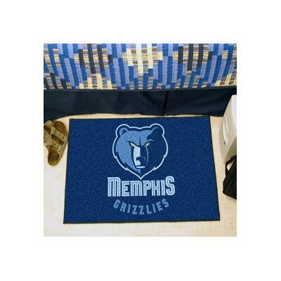 NBA - Memphis Grizzlies Doormat Rug Size: 17 x 26