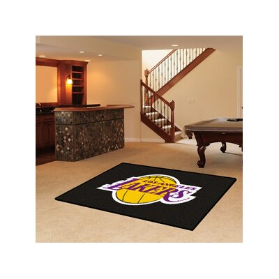 NBA - Los Angeles Lakers Doormat Rug Size: 17 x 26