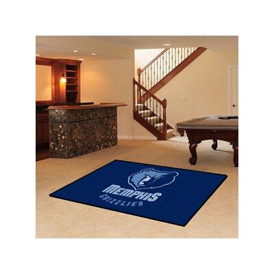 NBA - Memphis Grizzlies Doormat Mat Size: 5 x 8