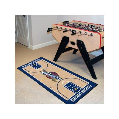 NBA - Cleveland Cavaliers NBA Court Runner Doormat Rug Size: 2 x 38