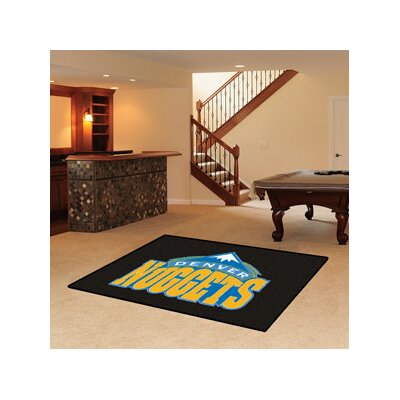 NBA - Denver Nuggets Doormat Rug Size: 5 x 8