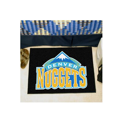 NBA - Denver Nuggets Doormat Mat Size: 17 x 26