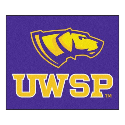 NCAA University Of Wisconsin-Stevens Point Indoor/Outdoor Area Rug