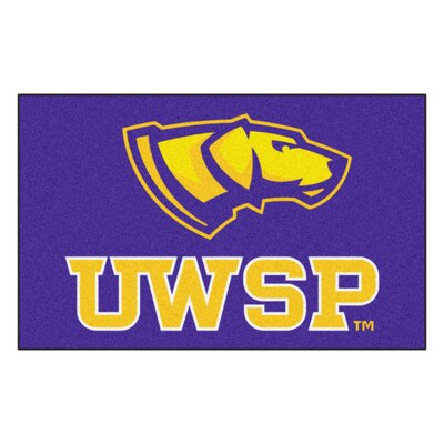 Collegiate NCAA University Of Wisconsin-Stevens Point Doormat