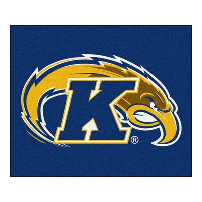 NCAA Kent State University Indoor/Outdoor Area Rug