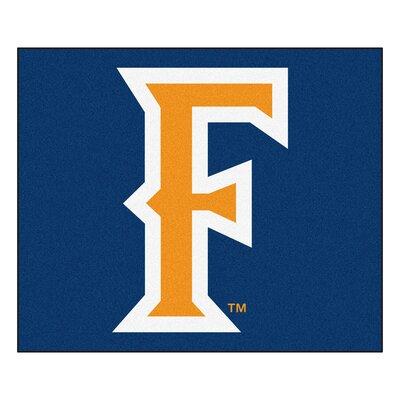 NCAA Cal State - Fullerton Indoor/Outdoor Area Rug