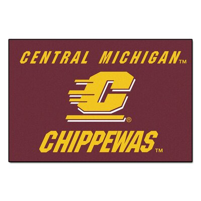 NCAA Central Michigan University Starter Mat