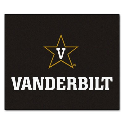 NCAA Vanderbilt University Indoor/Outdoor Area Rug