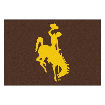 NCAA University of Wyoming Starter Mat