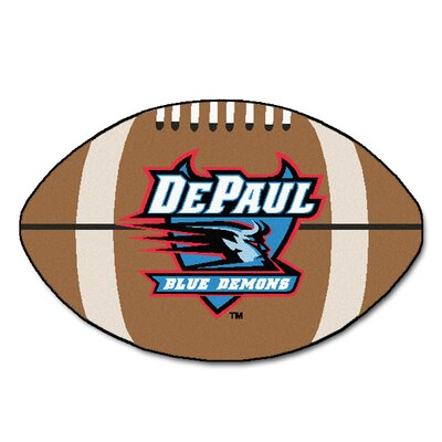 NCAA DePaul University Football Mat