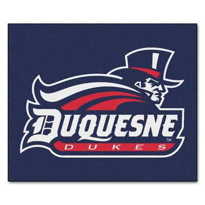NCAA Duquesne University Indoor/Outdoor Area Rug